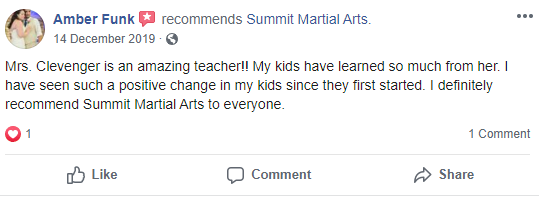 1, Summit Martial Arts in Mason City, IA